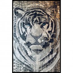 Abstract Tiger 2 Poster