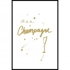 Champagne ll Poster