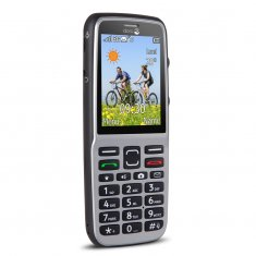 PhoneEasy 530X 3G Steel/Black