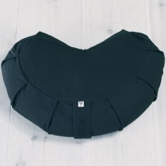 Meditation cushion crescent Bl