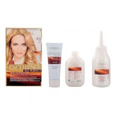 Permanent Anti-Ageing Dye Excellence Age Perfect L'Oreal Expert Professionnel Golden blonde