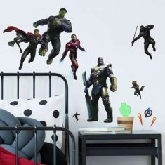 Avengers Endgame Fighting Wall