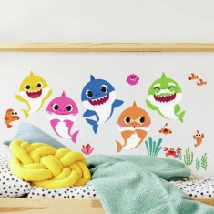 Baby Shark Wallstickers
