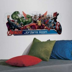 Avengers ABC Wallstickers
