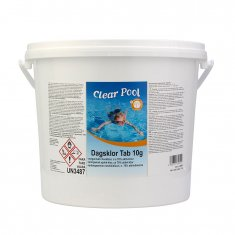 Poolkemi Clear Pool Dagsklor 10 g Tabletter 10 kg