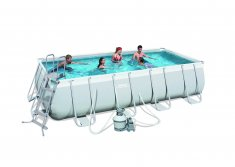 Power Steel™ Bestway Frame Pool Set 488 x 274 x 122 cm