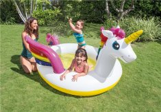 INTEX Mystisk Enhörning/Unicorn Spray BarnPool, 151L