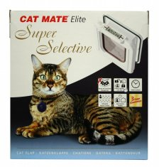 Kattdörr CatMate Elite 305 Super Selective Vit (248x265mm) RETUREXEMPLAR!