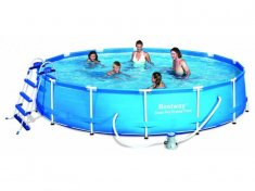 Steel Pro Bestway Frame Pool Set Ø 427 x 84 cm