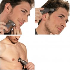 Rakapparat för kroppen BODY HAIR CLIPPER 3 i 1 paket Lanaform