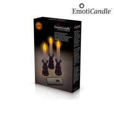 EmotiCandle Romantic Ambiance LED stearinljus (3-pack)