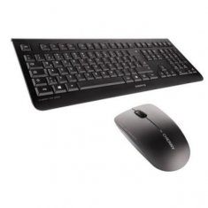 Cherry Wireless English Keyboard + Mouse DW3000 Black