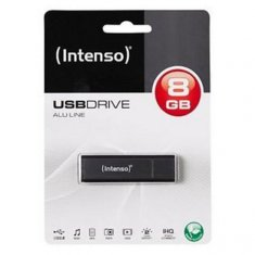 USB-minne INTENSO 3521461 8 GB Antracitgrå