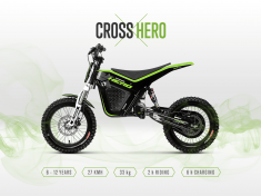KUBERG CROSS 1701 Hero Edition (Svart\Grön)