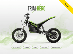 KUBERG TRIAL-E 1701 Hero Edition