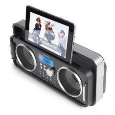 Uppladdningsbar Bluetooth retro radio AudioSonic RD1556