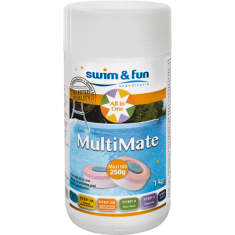 MULTIMATE 250G TAB, 1 KG Swim & Fun