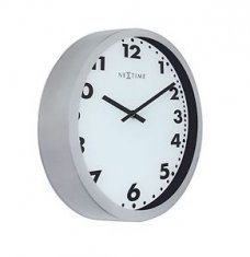 Nextime Magic Arabic Wall Clock 35cm Vit