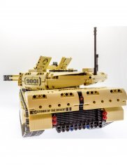 Radiostyrd Stridsvagn Airsoft 1276st bitar - 2.4G TechBricks
