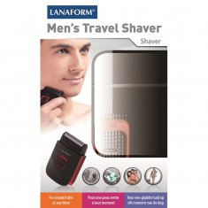 Rakapparat TRAVEL SHAVER Lanaform