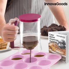 InnovaGoods Pastry Dispenser Jug with Recipe Box