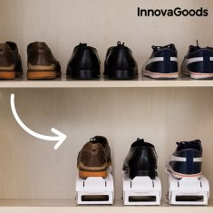 InnovaGoods Adjustable Shoe Rack (6 Pairs)
