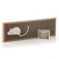 Pet Prior Cat Scratching Block with Catnip