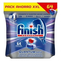 Finish Quantum Regular Dishwasher Tablets (64 Washes)