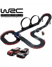 Licensierad bilbana WRC Radical Jumping Rally 1:43 skala