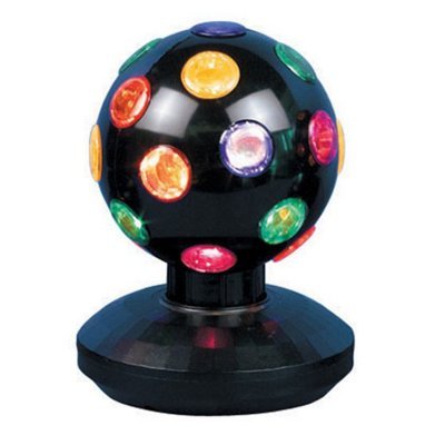 4 Disco Ball Black 10 cm