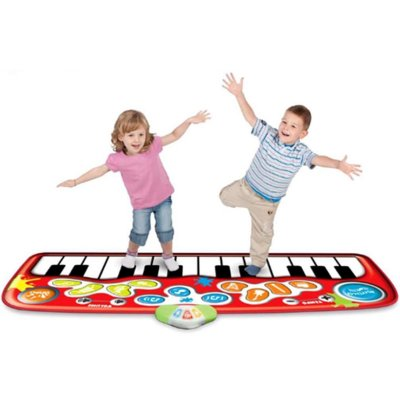 Step-to-Play Piano Mat