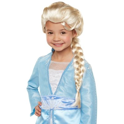 Frozen 2 Dress Up Wig Elsa