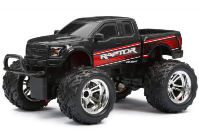 Radiostyrd Bil New Bright 1:18 RC Chargers Jeep/Raptor