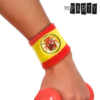 Th3 Party Spanish Flag Wristband
